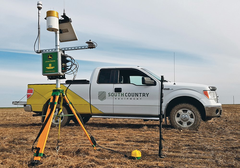 Weather Station and Probe Installed Crop Intelligence