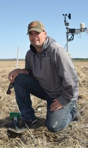 Trevor Thompson Crop Intelligence moisture probe