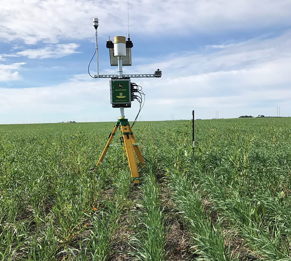John Deere Field Connect Weather Station
