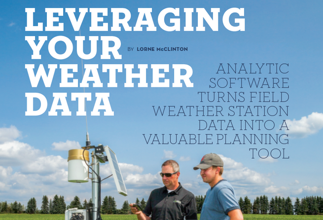 Leveraging Your Weather Data